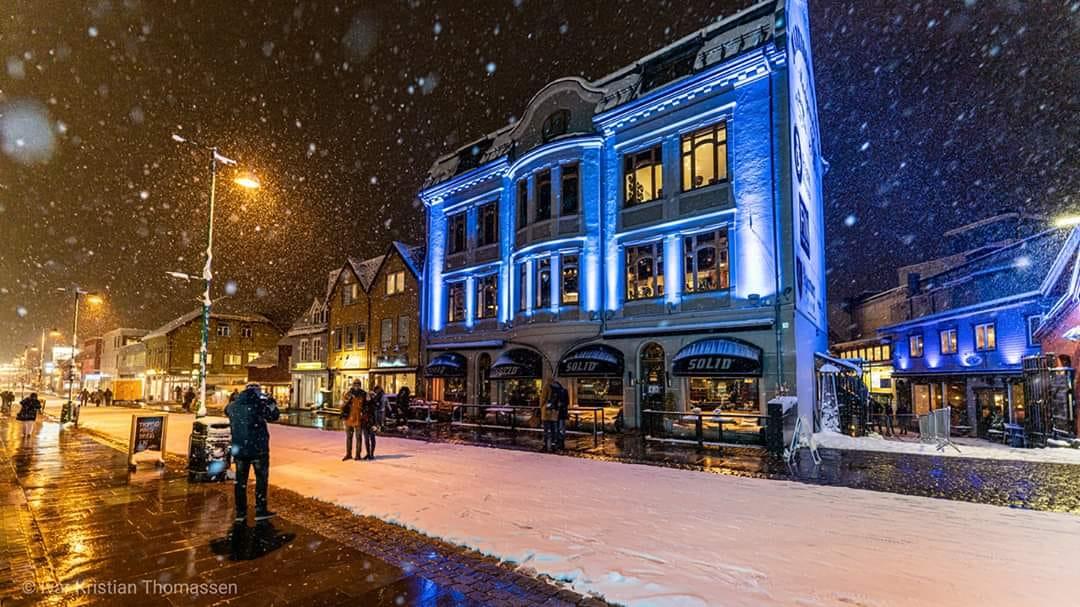 Tromsø bat son record de neige depuis 1922