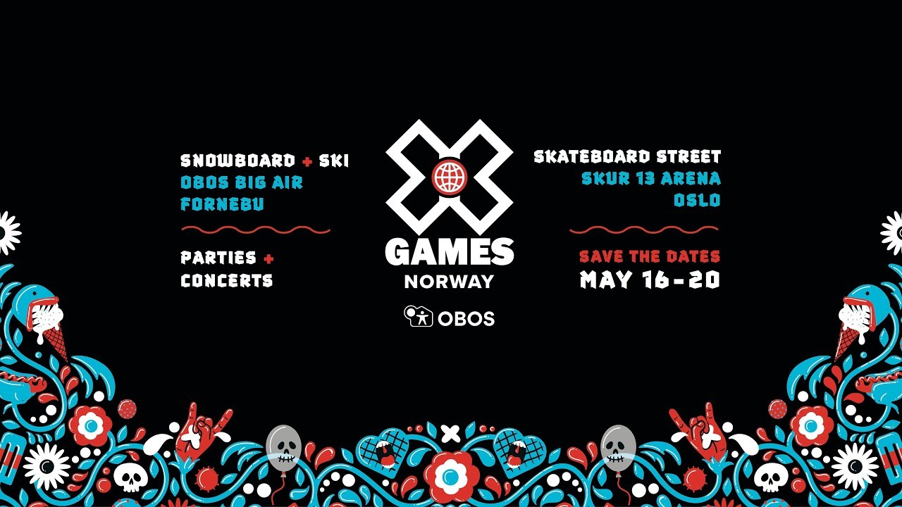 Les X Games Norway 2018, c'est ce weekend à Oslo !