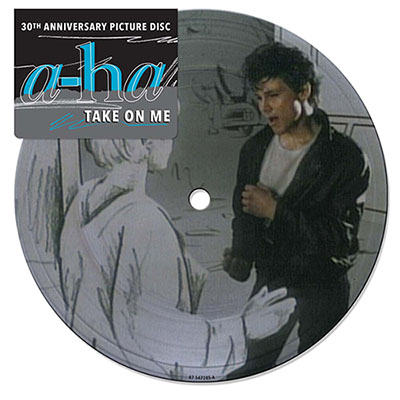 Sortie du Picture Disc 'Take on me' le 18 avril