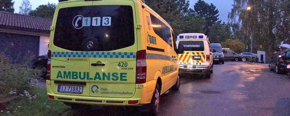 Fusillade dans une mosquée à Bærum près d'Oslo, le suspect arrêté