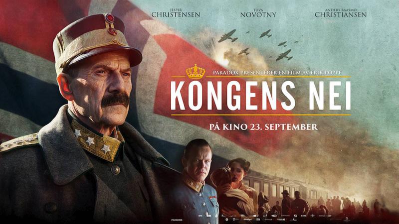 'Kongens nei' [The King's Choice] représentera la Norvège lors des Oscars 2017