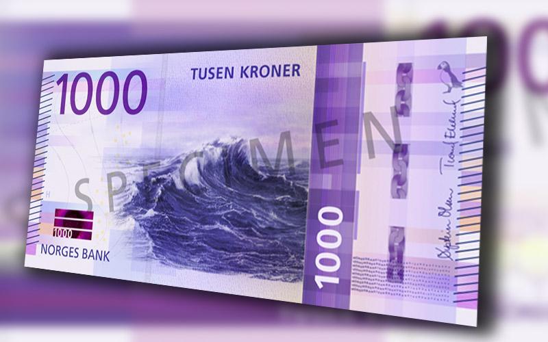 La Norges Bank lancera une nouvelle série de billets de banque en 2017