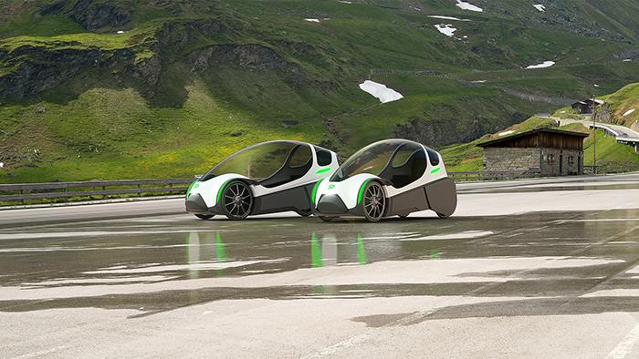 Le PodBike, le vélo électrique (norvégien) du futur