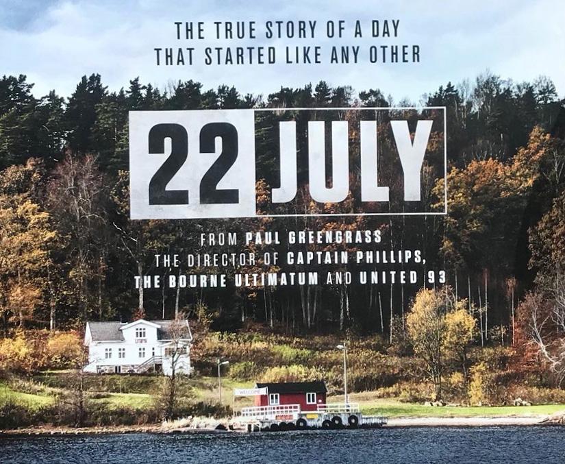 UN 22 JUILLET : un long métrage qui retrace les attentats en Norvège