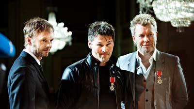 A-ha, Chevalier de l'Ordre Royal norvégien de Saint-Olaf