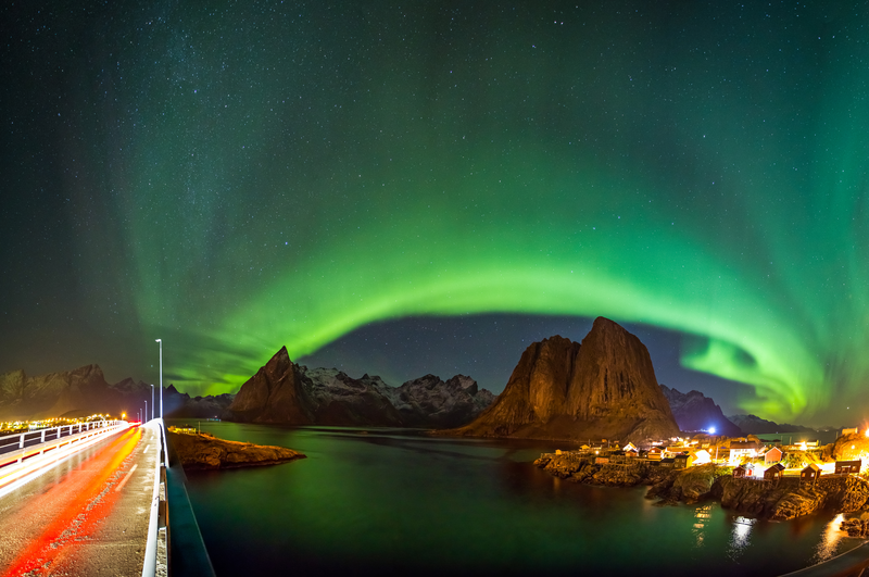 Aurore Boreale Norvege Hamnoy - Northern Lights Hunting In Norway | Tips And Advice