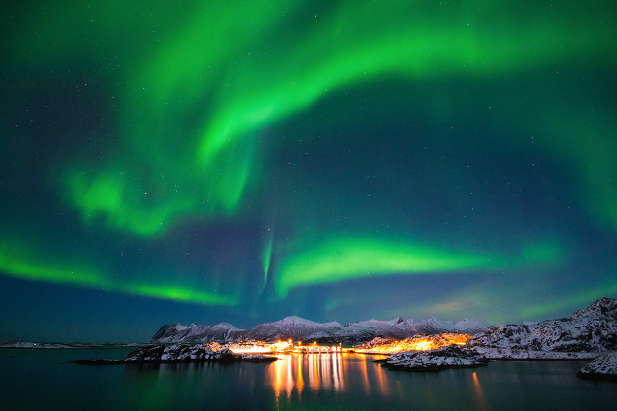 Aurore Boreale Norvege Senja - Northern Lights Hunting In Norway | Tips And Advice